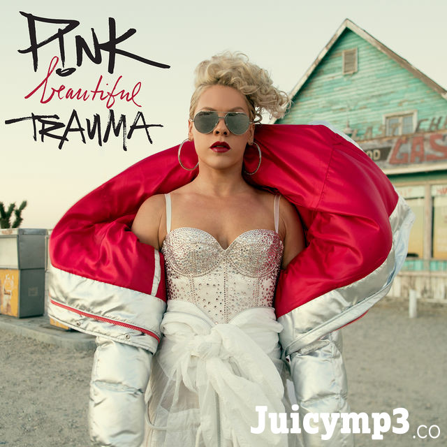 P!nk Beautiful Trauma Album Cover