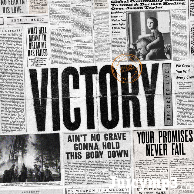 Victory (Live) Album Cover