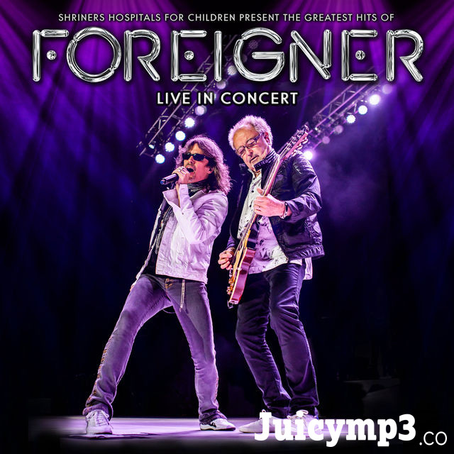 Foreigner The Greatest Hits of Foreigner Live in Concert Album Cover