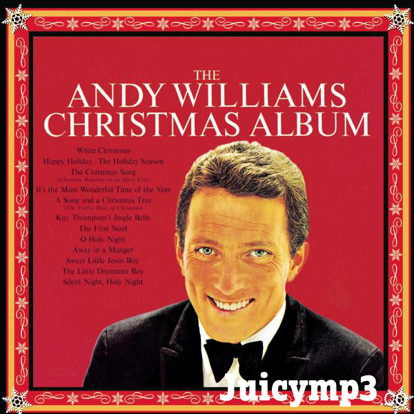 The Andy Williams Christmas Album Album Cover